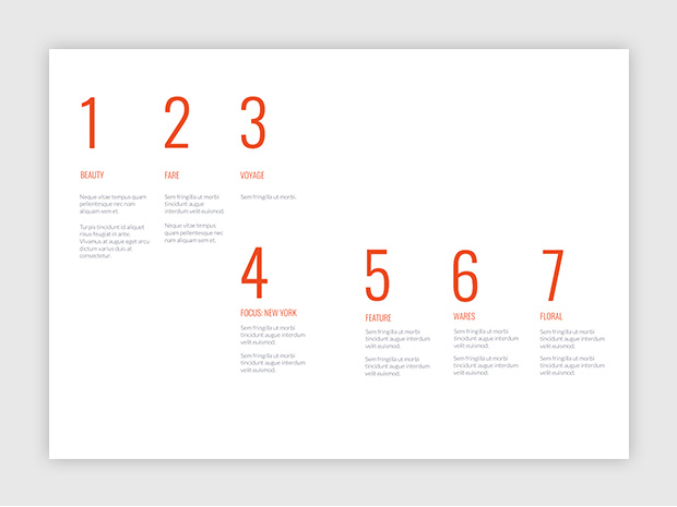 Design A Creative Table Of Contents  Templates And Examples