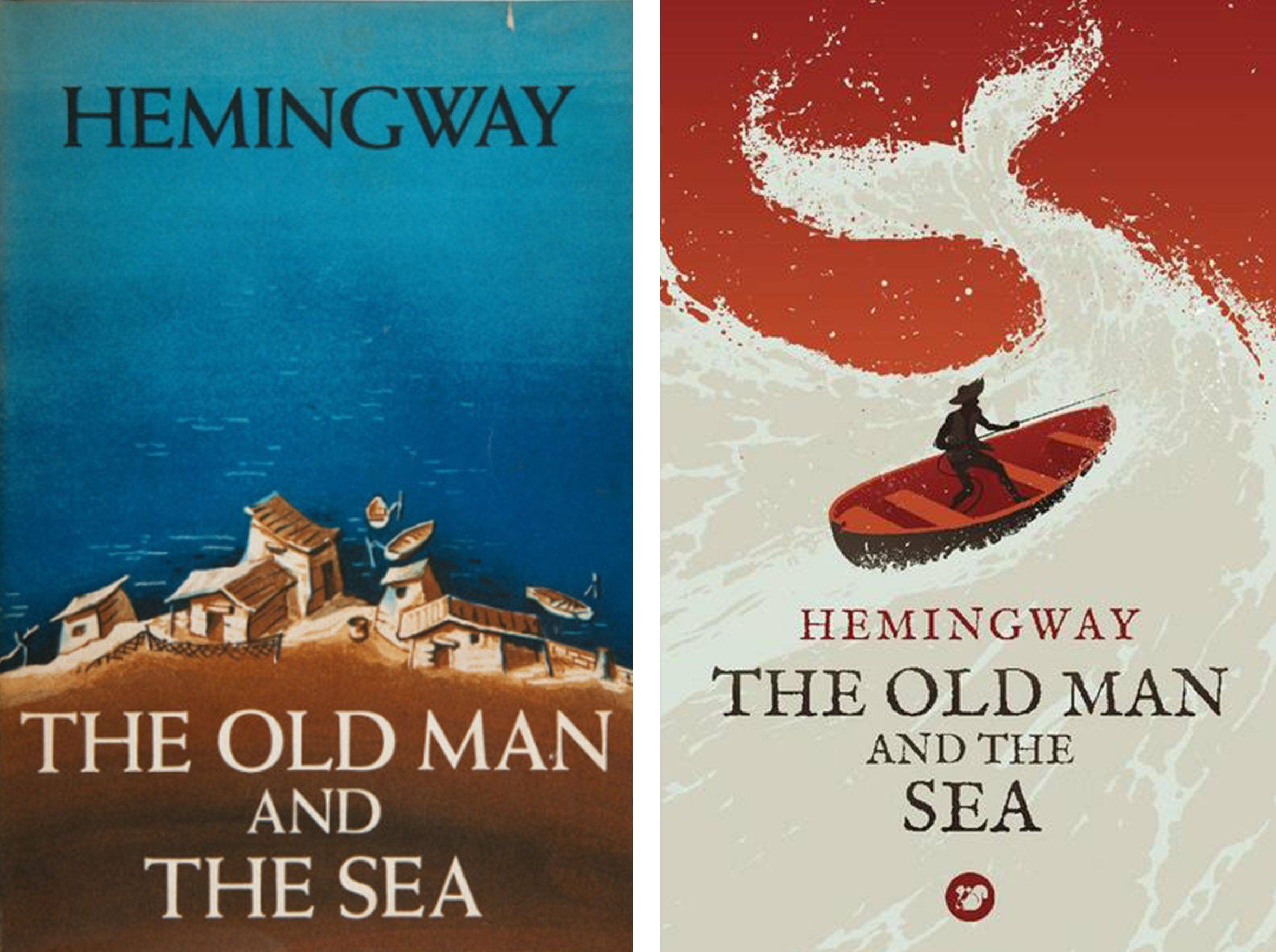 The evolution of book cover design the old man and the sea hemingway 9 buycottarizona Gallery