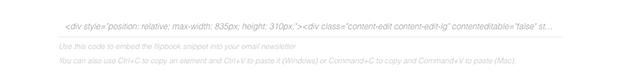 embedcode copy