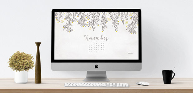 November  Free Calendar Background  Desktop Wallpaper