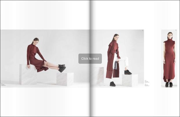 Mullier Bauer fashion lookbook example