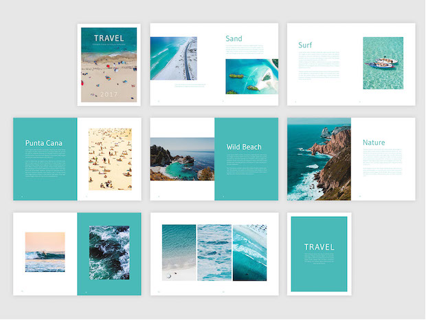 Your digital booklet design guide for Travel guide brochure template