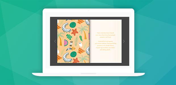 digital booklet design