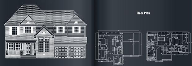 real estate floor plan2D