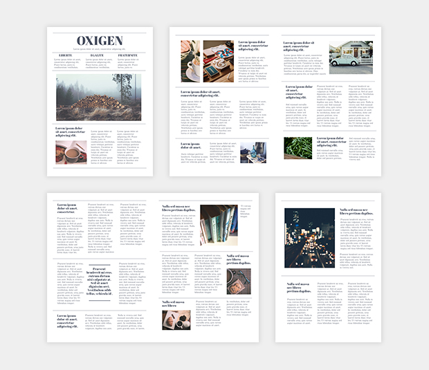 Student Newspaper Template