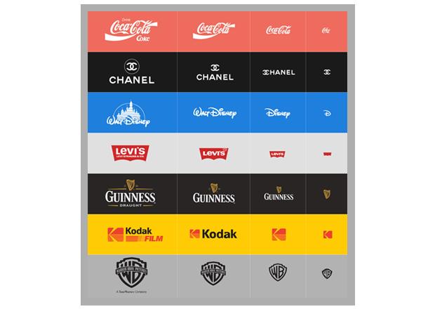 Graphic design trends 2018 responsive logos