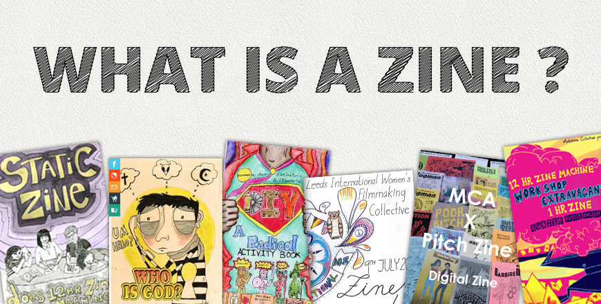 What is a zine cover