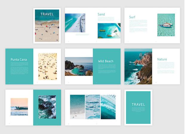 Free travel brochure design