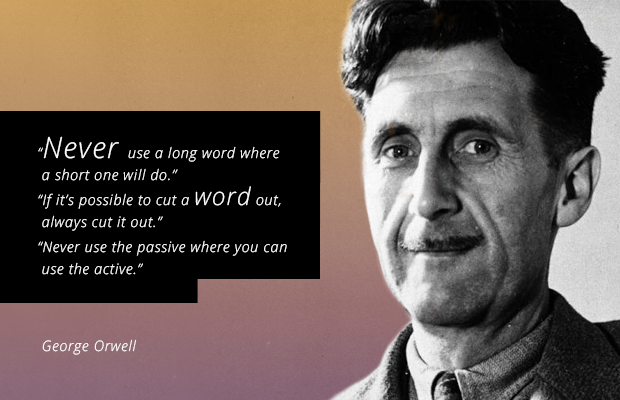 writing tips from George_Orwell