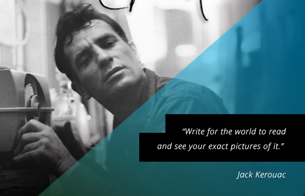 Writing tips from Jack-Kerouac