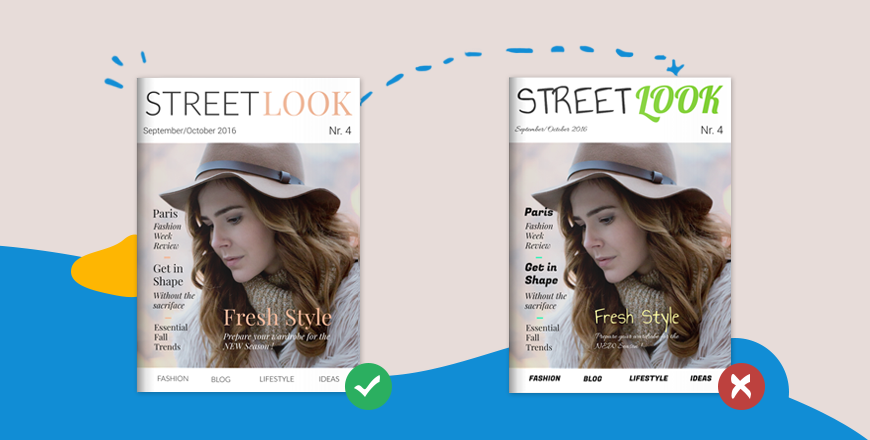 design mistakes magazine covers