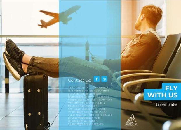 small business marketing ideas travel brochure template