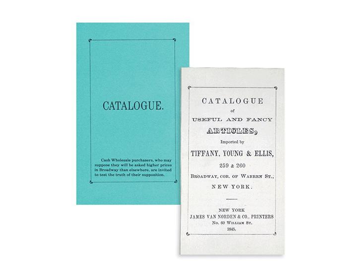 tiffany&co story of the catalog