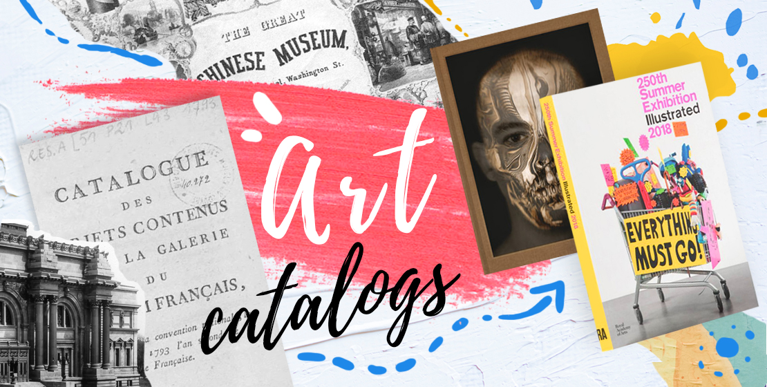 the art of art catalogs