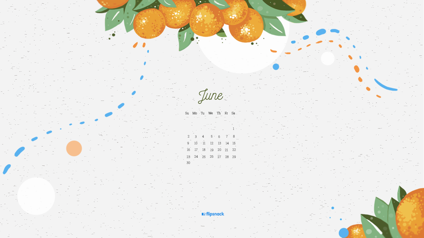 free june 2019 wallpaper calendar
