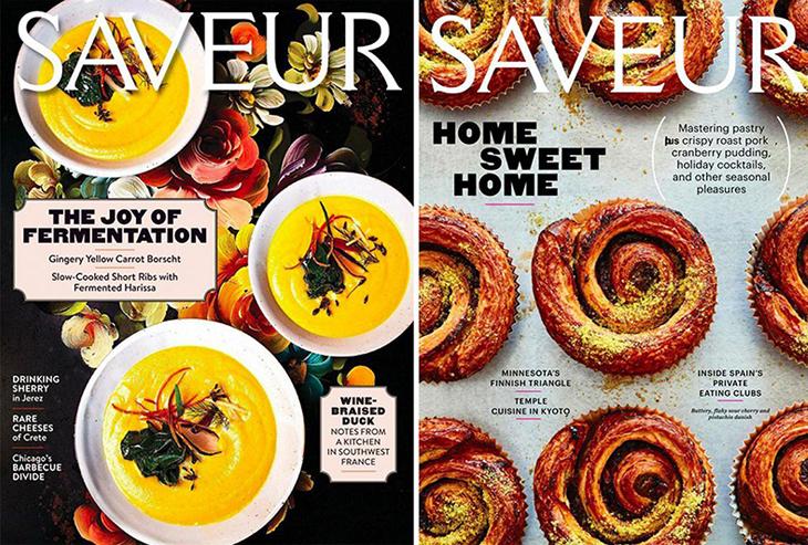 food magazines 2019 - saveur magazine