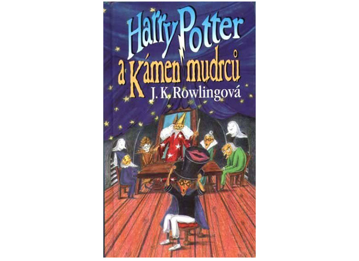 harry potter book covers czech rep
