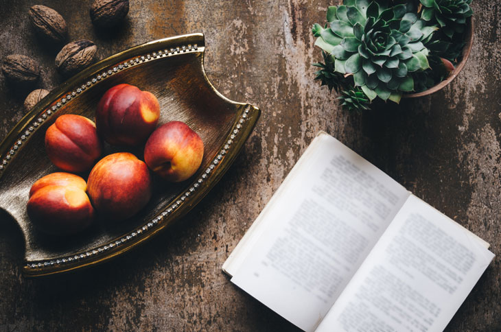 book club ideas match with food